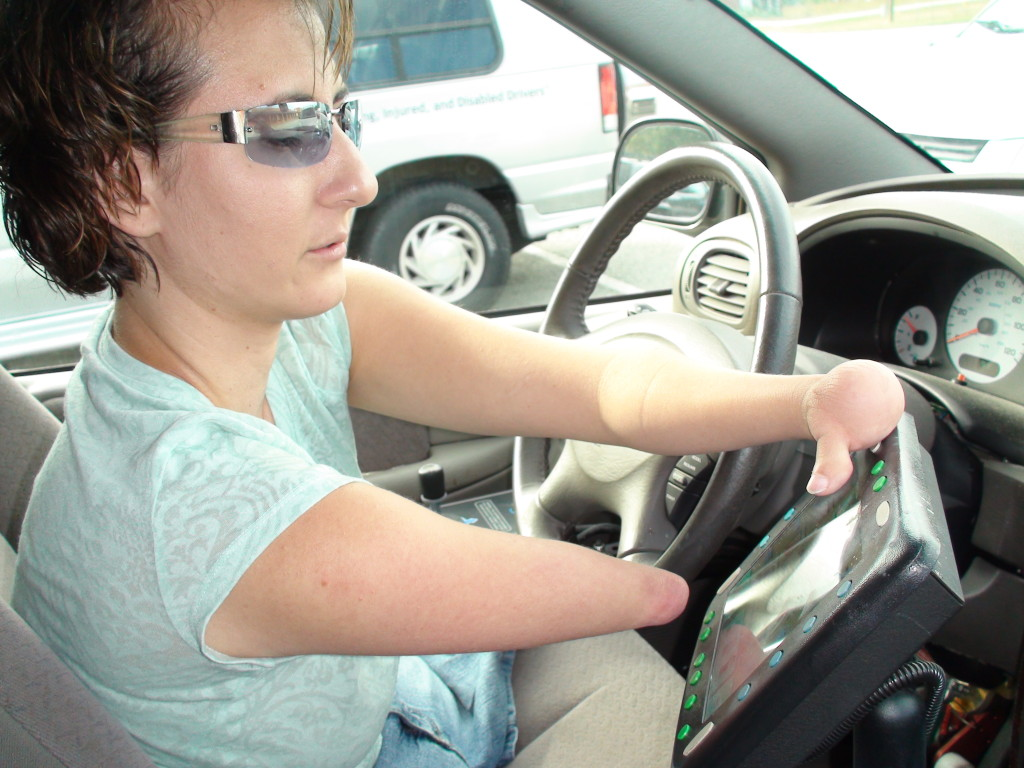 driving with adaptive equipment